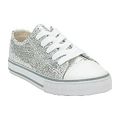 claire silver sneaks